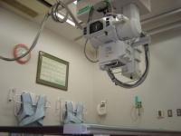 最新のレントゲン検査室、救急医療の中でも重要な検査です